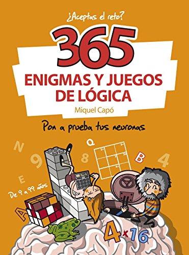 365 enigmas y juegos de lógica: Pon a prueba tus neuronas (No ficción ilustrados) (Español) Tapa blanda