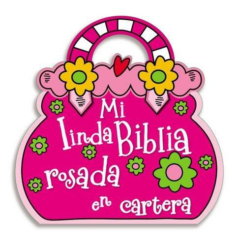 Mi Linda Biblia Rosada En Cartera (Español) Libro de tela