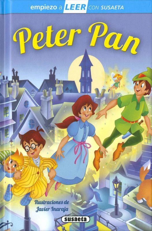 Peter Pan (Empiezo a LEER con Susaeta - nivel 1) (Español) Tapa dura