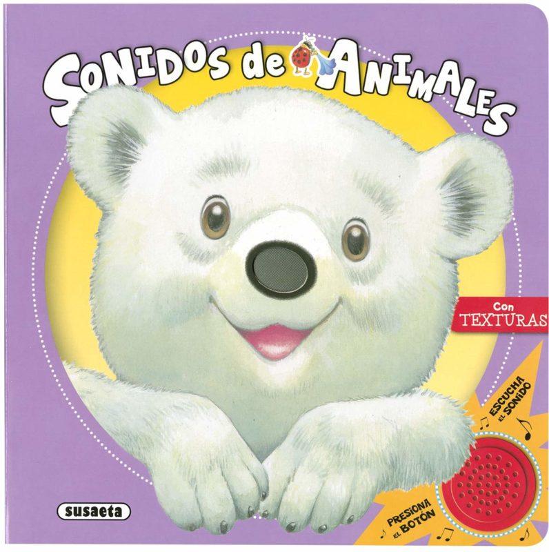Sonidos De Animales (Toca, siente, escucha) (Español) Libro de cartón