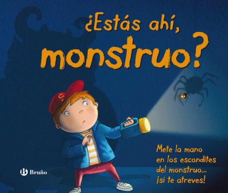¿Estás ahí monstruo? (Castellano - A Partir De 3 Años - Manipulativos (Libros Para Tocar, Jugar Y Pintar), Pop-Ups - Otros Libros) (Español) Tapa dura