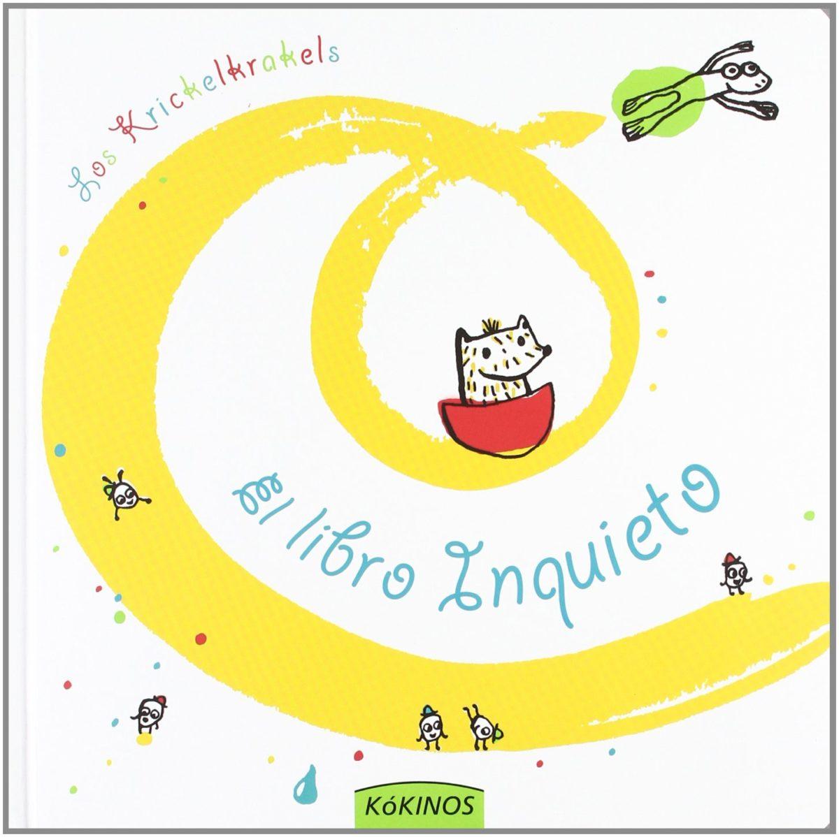 El libro inquieto (Español) Tapa dura