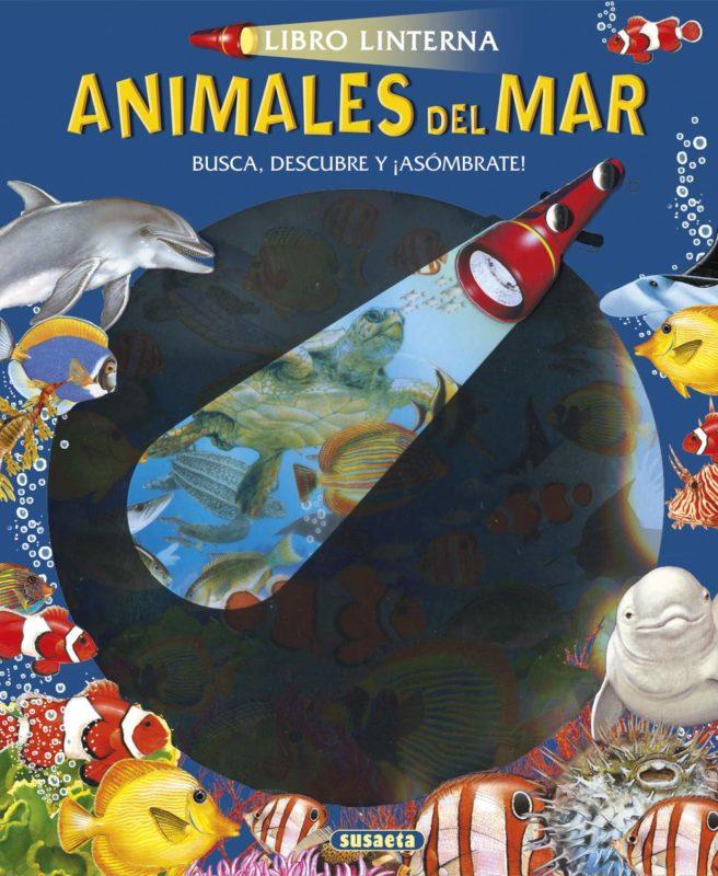 Animales Del Mar (Libro linterna) (Español) Libro de cartón