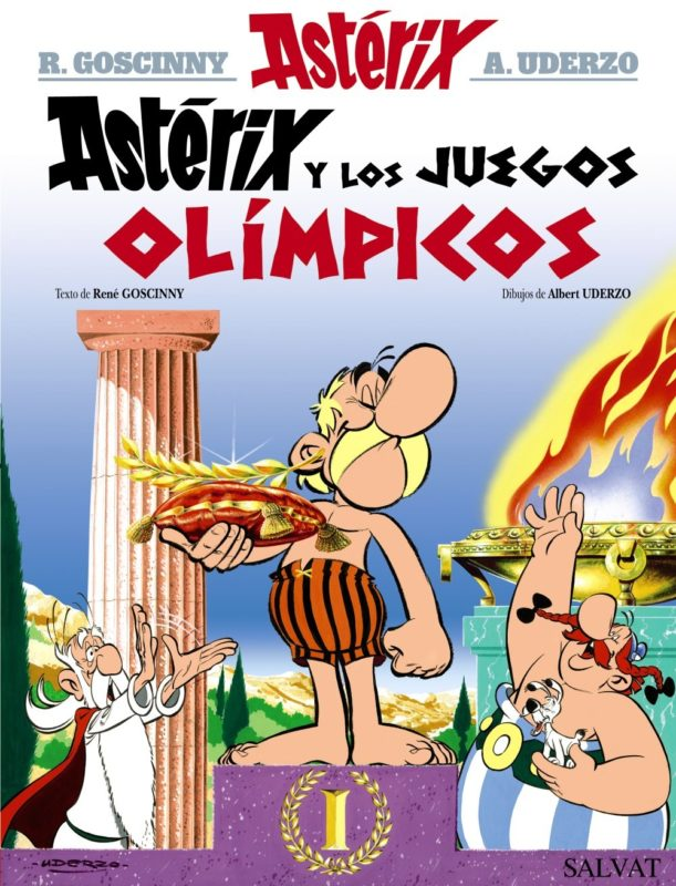 Astérix y los Juegos Olímpicos (Castellano - A Partir De 10 Años - Astérix - La Colección Clásica) (Español) Tapa dura