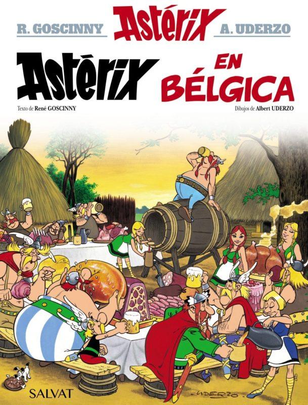 Astérix en Bélgica (Castellano - A PARTIR DE 10 AÑOS - ASTÉRIX - La Colección Clásica) (Español) Tapa dura