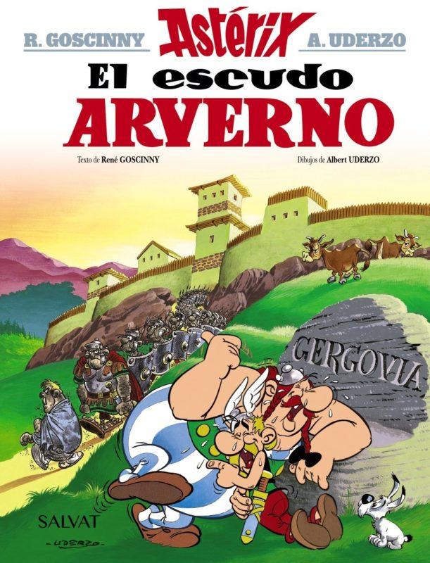 El Escudo Arverno (Castellano - A Partir De 10 Años - Astérix - La Colección Clásica) (Español) Tapa dura