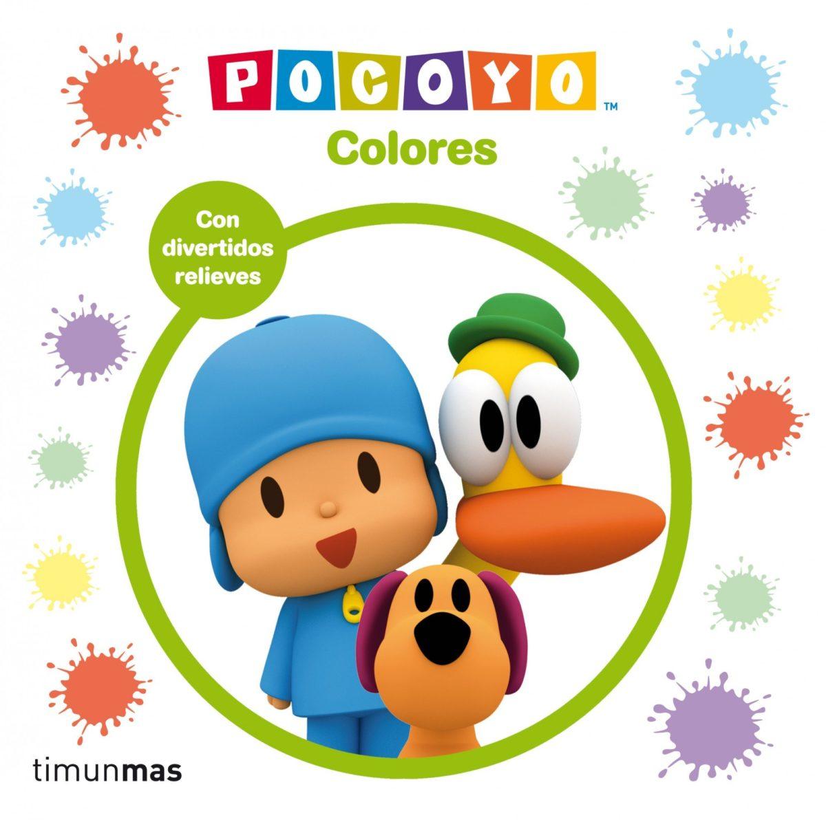 Pocoyó. Colores: Con divertidos relieves: 10 (Pocoyo) (Español) Libro de cartón