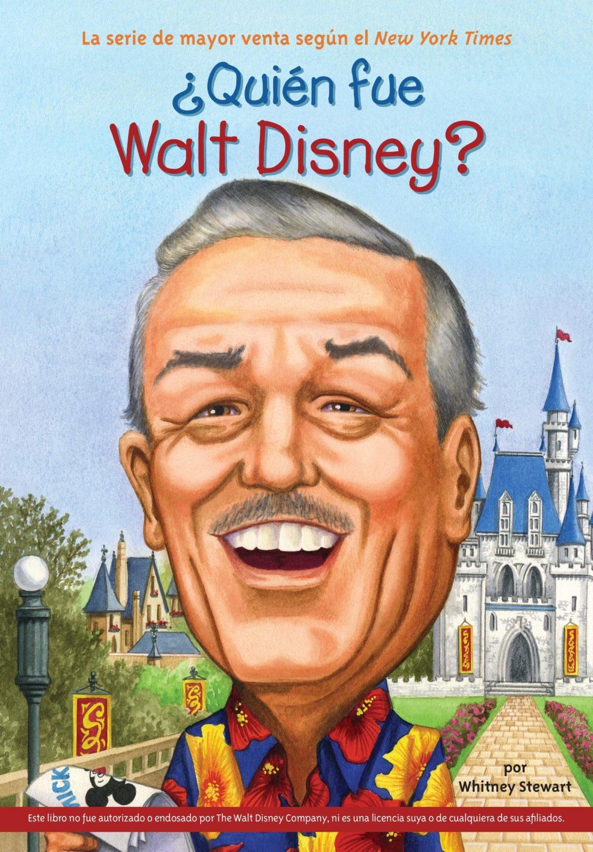 ¿Quién fue Walt Disney? (Quien Fue...?) (Español) Tapa blanda