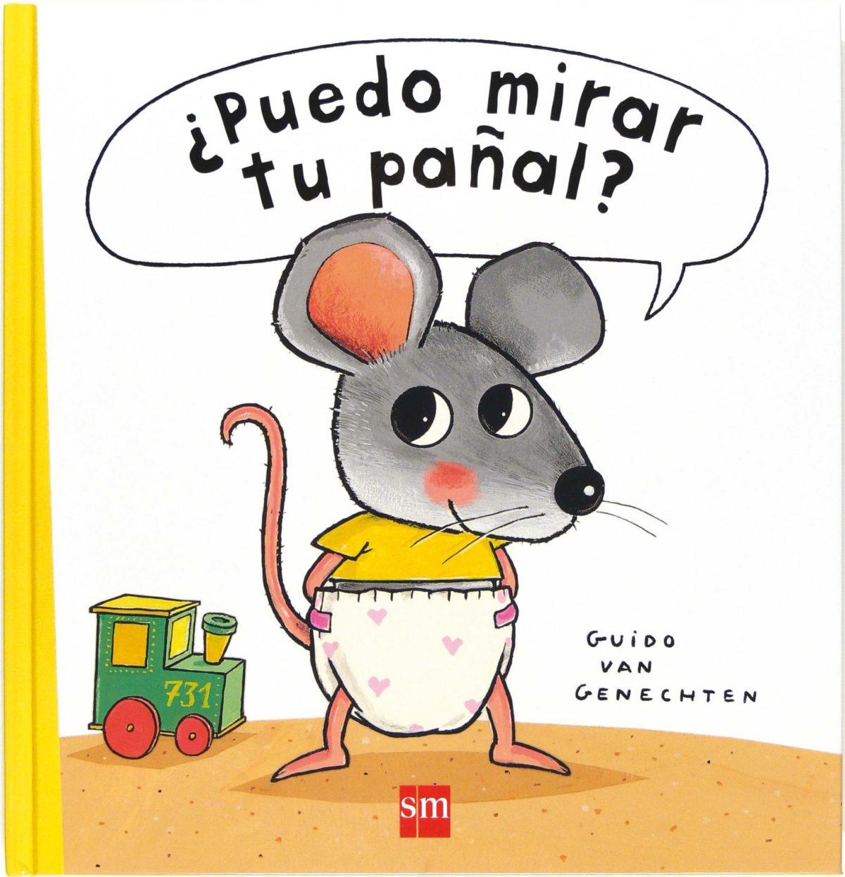 ¿Puedo mirar tu pañal? (Libros de cartón) (Español) Cómic