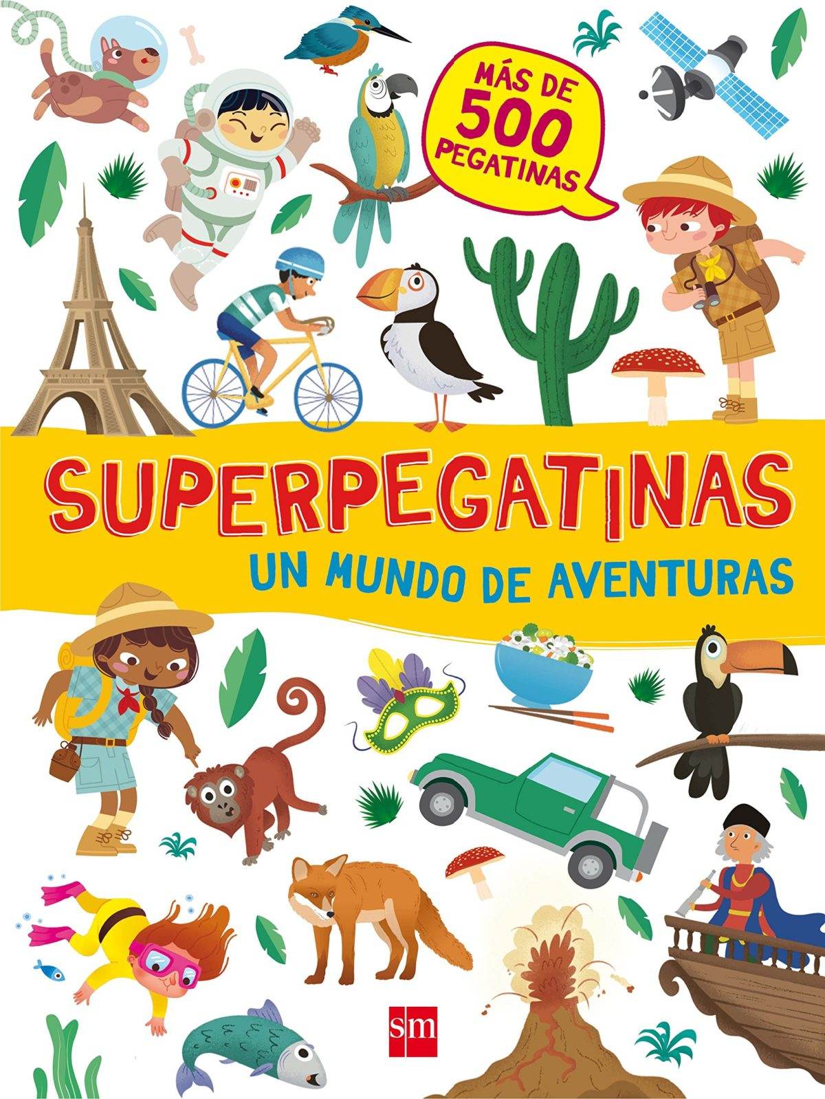 Superpegatinas. Un mundo de aventuras (Pegatinas) (Español) Tapa blanda