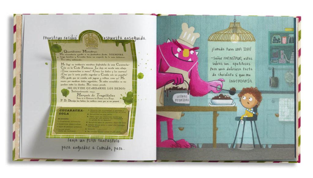 El banquete de los monstruos (Álbumes ilustrados) (Español) Juguete