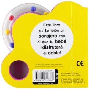 ¡A comer! (Libro sonajero) (Español) Tapa blanda