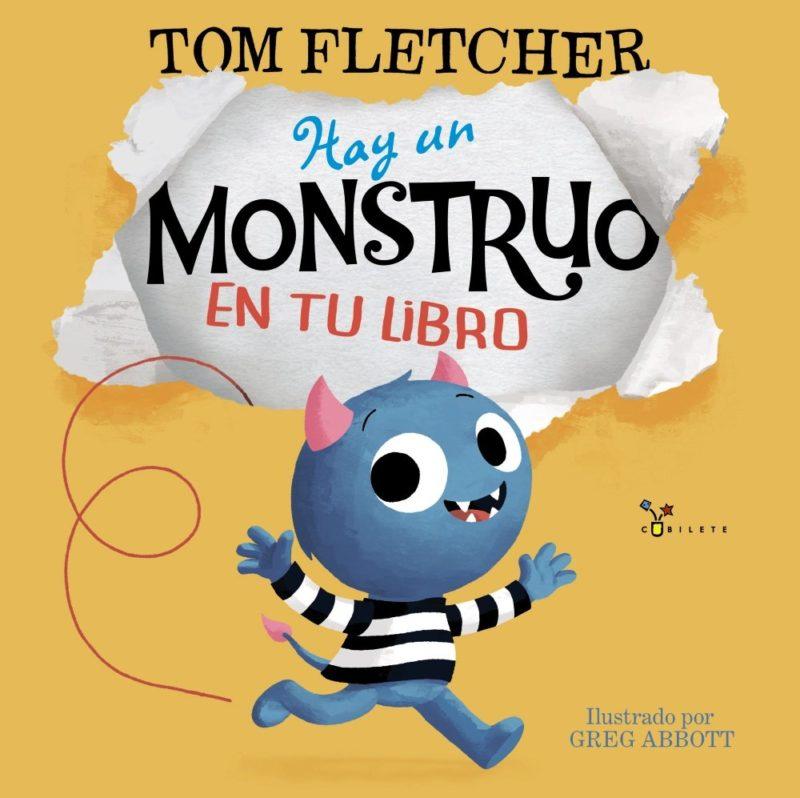 Hay un monstruo en tu libro (Castellano - A PARTIR DE 3 AÑOS - ÁLBUMES - Cubilete) (Español) Tapa dura