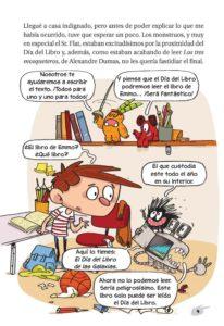 El Día del Libro de las Galaxias (Agus y los monstruos) (Español) Tapa blanda
