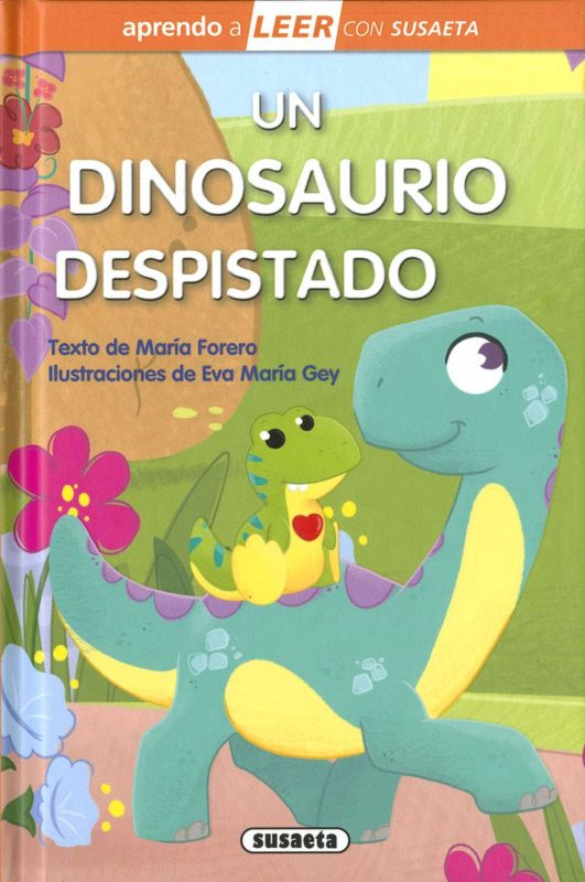 Un Dinosaurio Despistado (Aprendo a LEER con Susaeta - nivel 0) (Español) Tapa dura