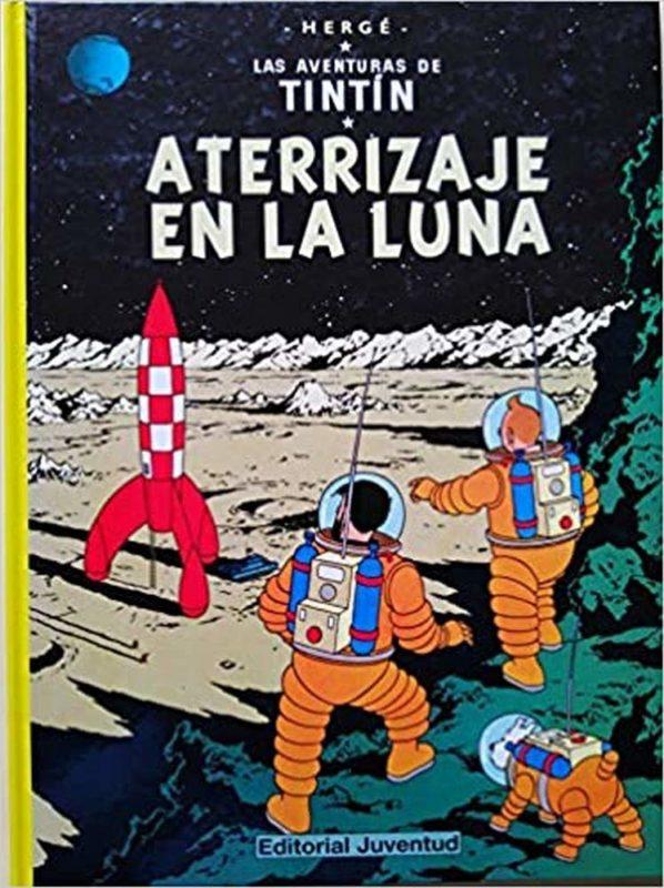Aterrizaje en la luna - Las Aventuras de Tintín (Cartoné)