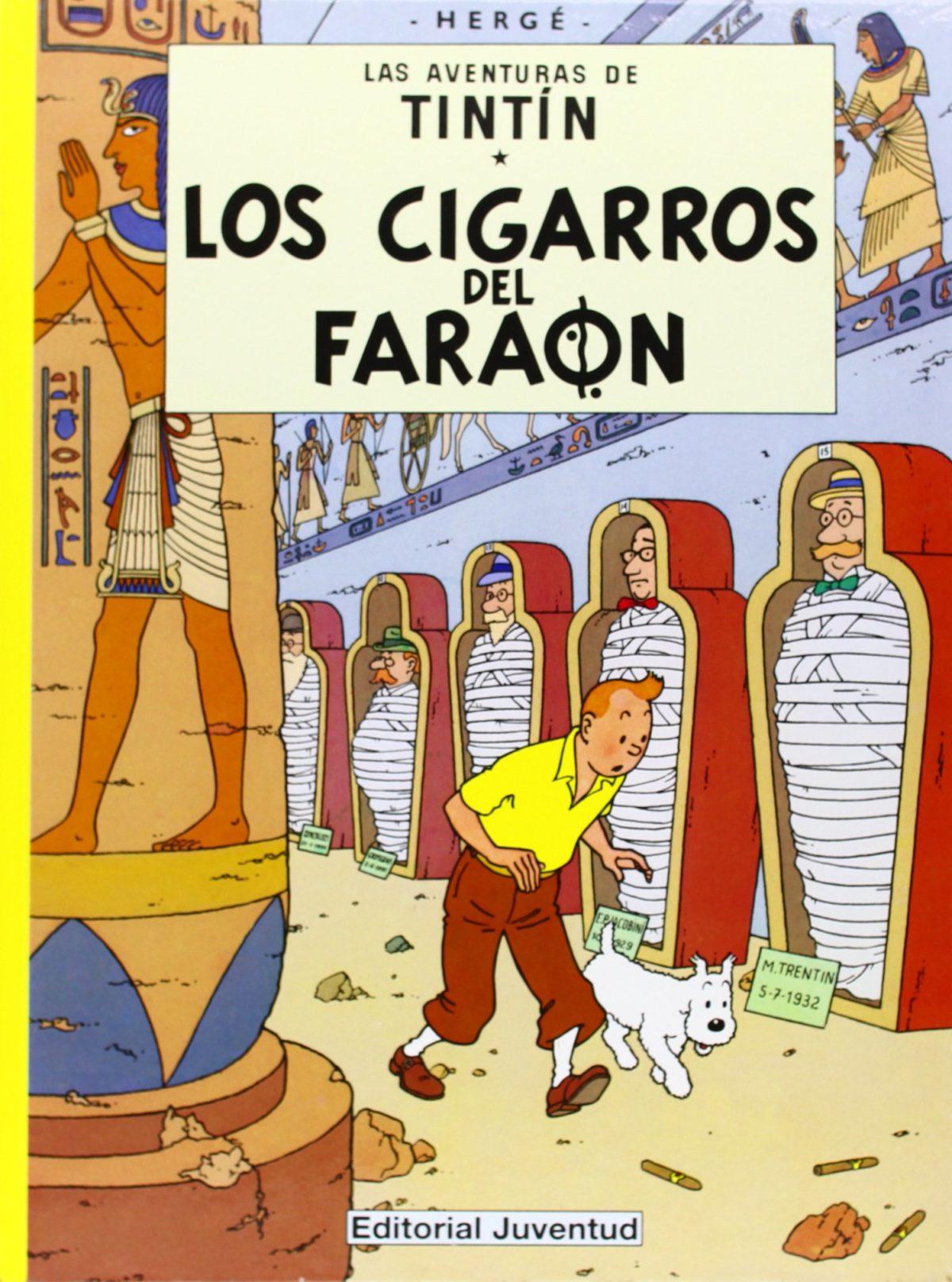 Los cigarros del faraón - Las Aventuras de Tintín (Cartoné)