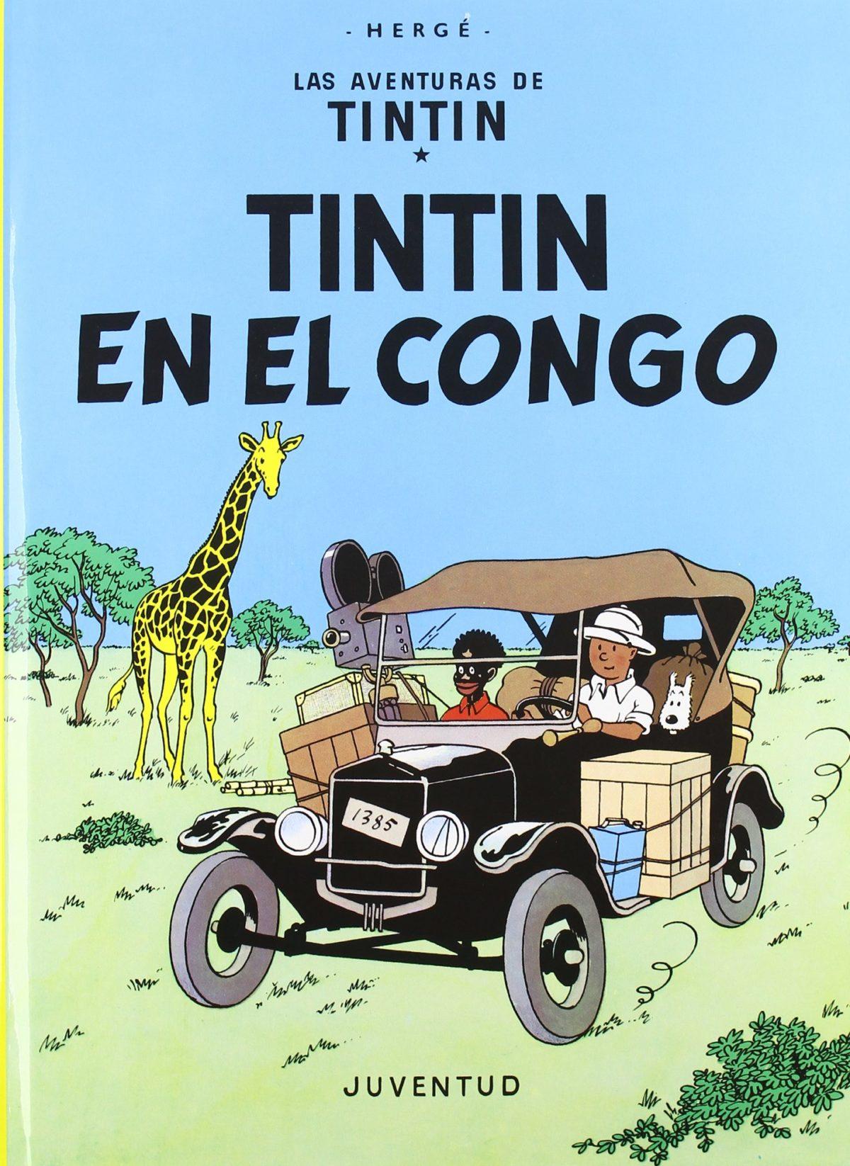 Tintín en el Congo - Las Aventuras de Tintín (Cartoné)