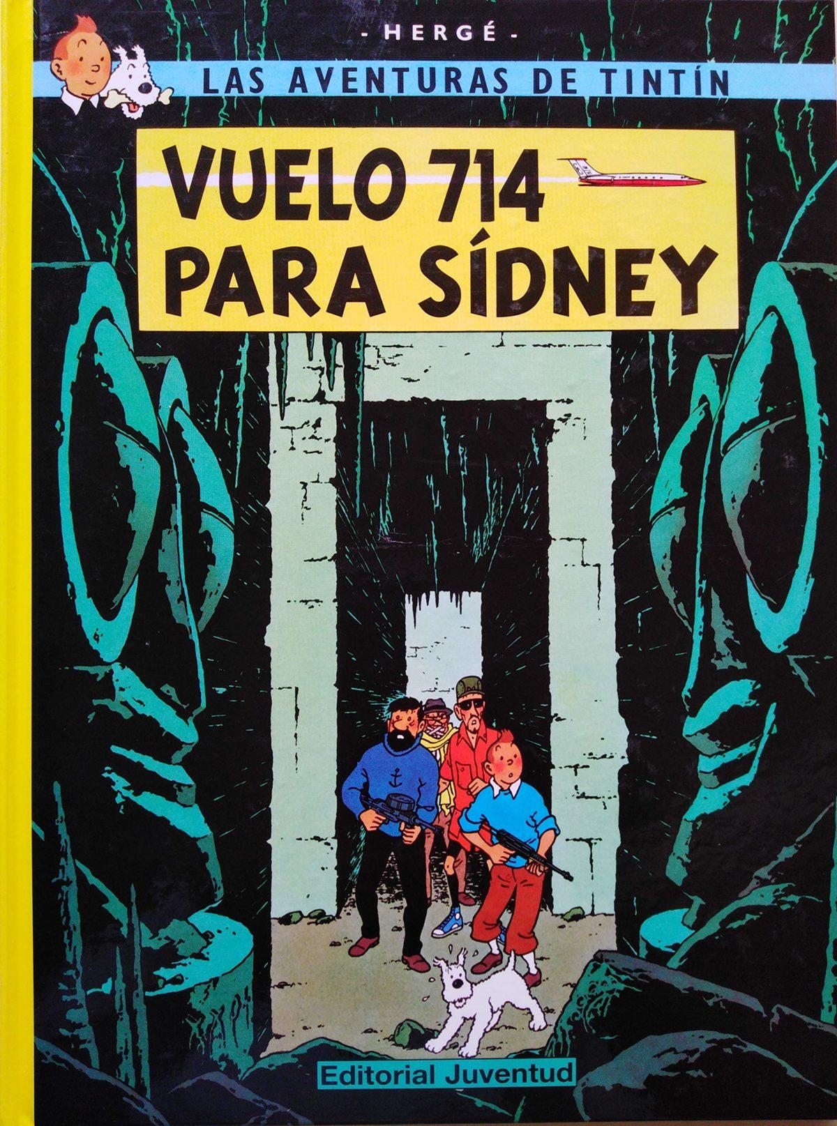 Vuelo 714 para Sidney  - Las Aventuras de Tintín (Cartoné)