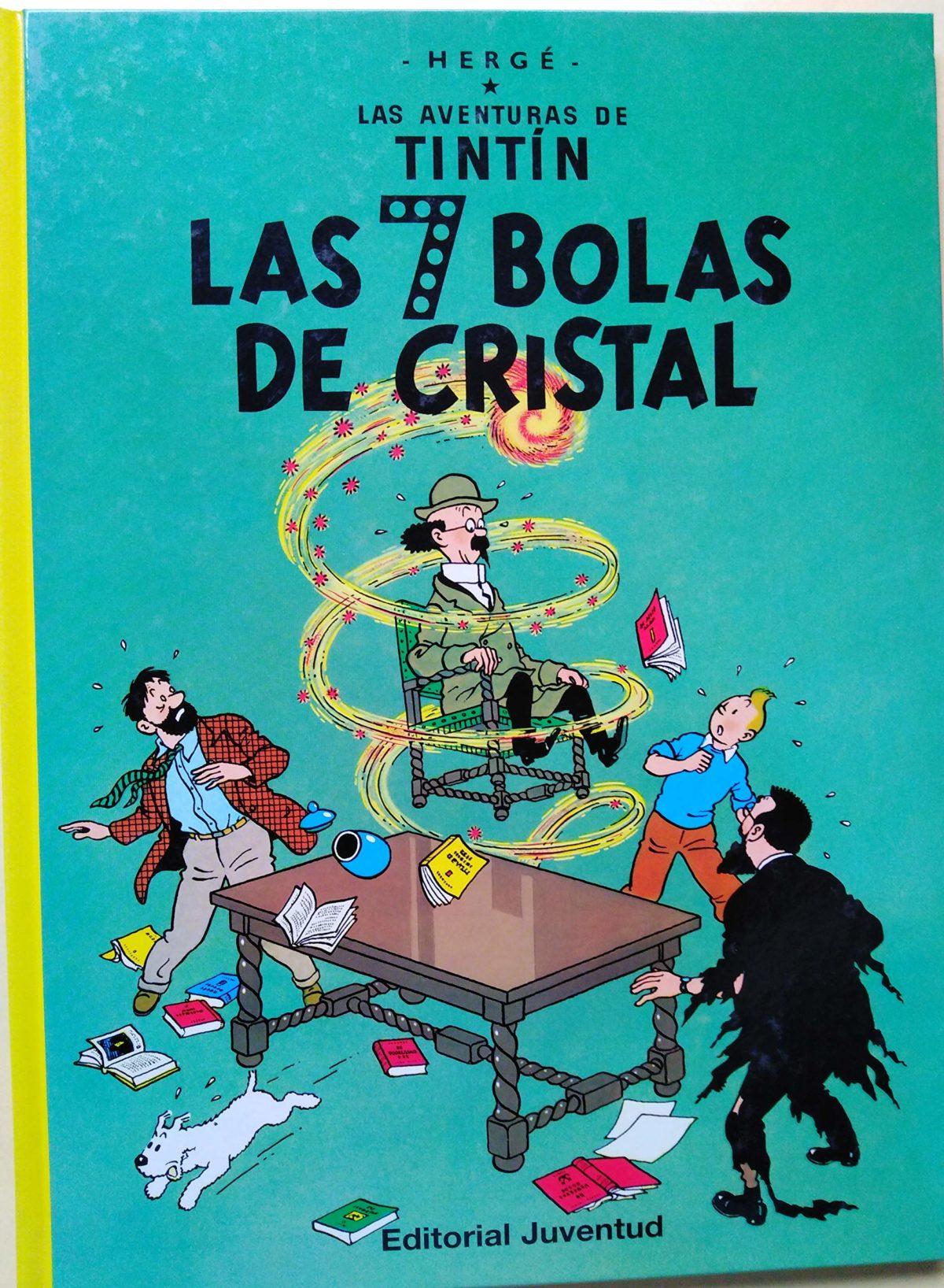 Las 7 bolas de cristal - Las Aventuras de Tintín (Cartoné)