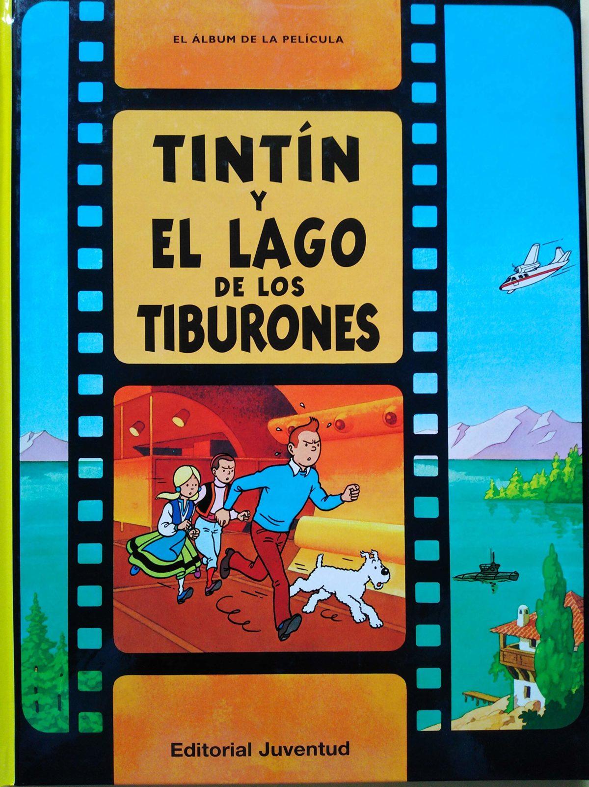 Tintín y el lago de los tiburones - Las Aventuras de Tintín (Cartoné)