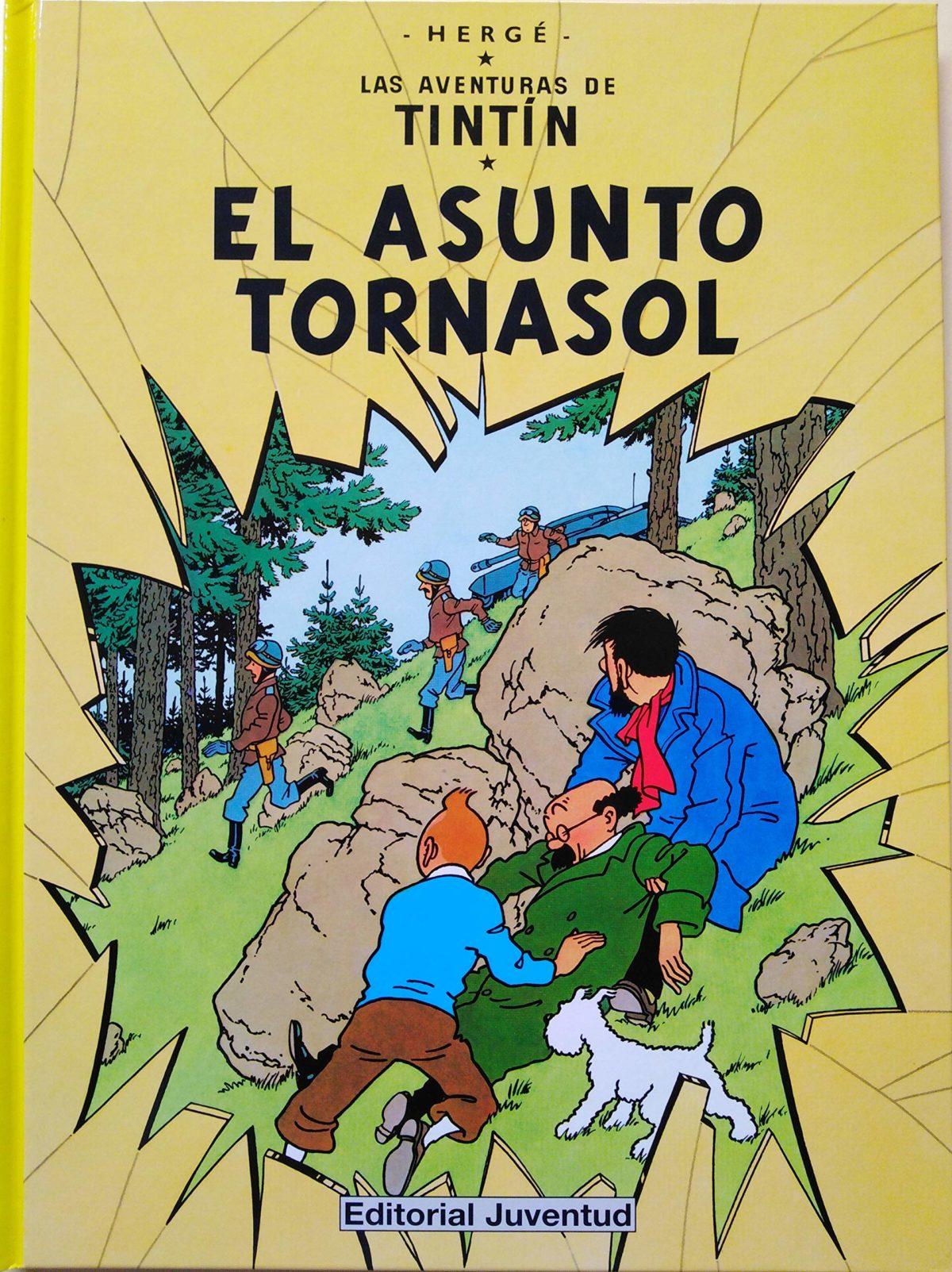 El Asunto Tornasol - Las Aventuras de Tintín (Cartoné)