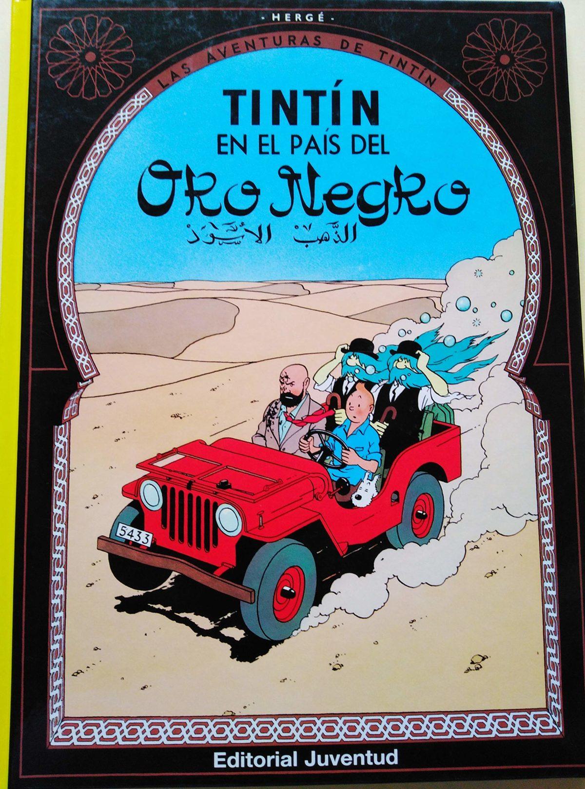 Tintín en el país del Oro Negro - Las Aventuras de Tintín (Cartoné)