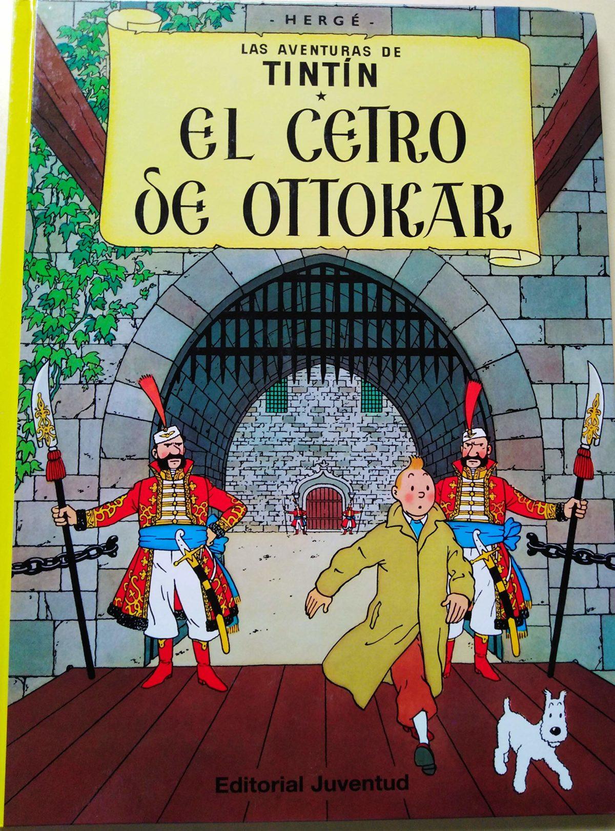 El cetro de Ottokar - Las Aventuras de Tintín (Cartoné)