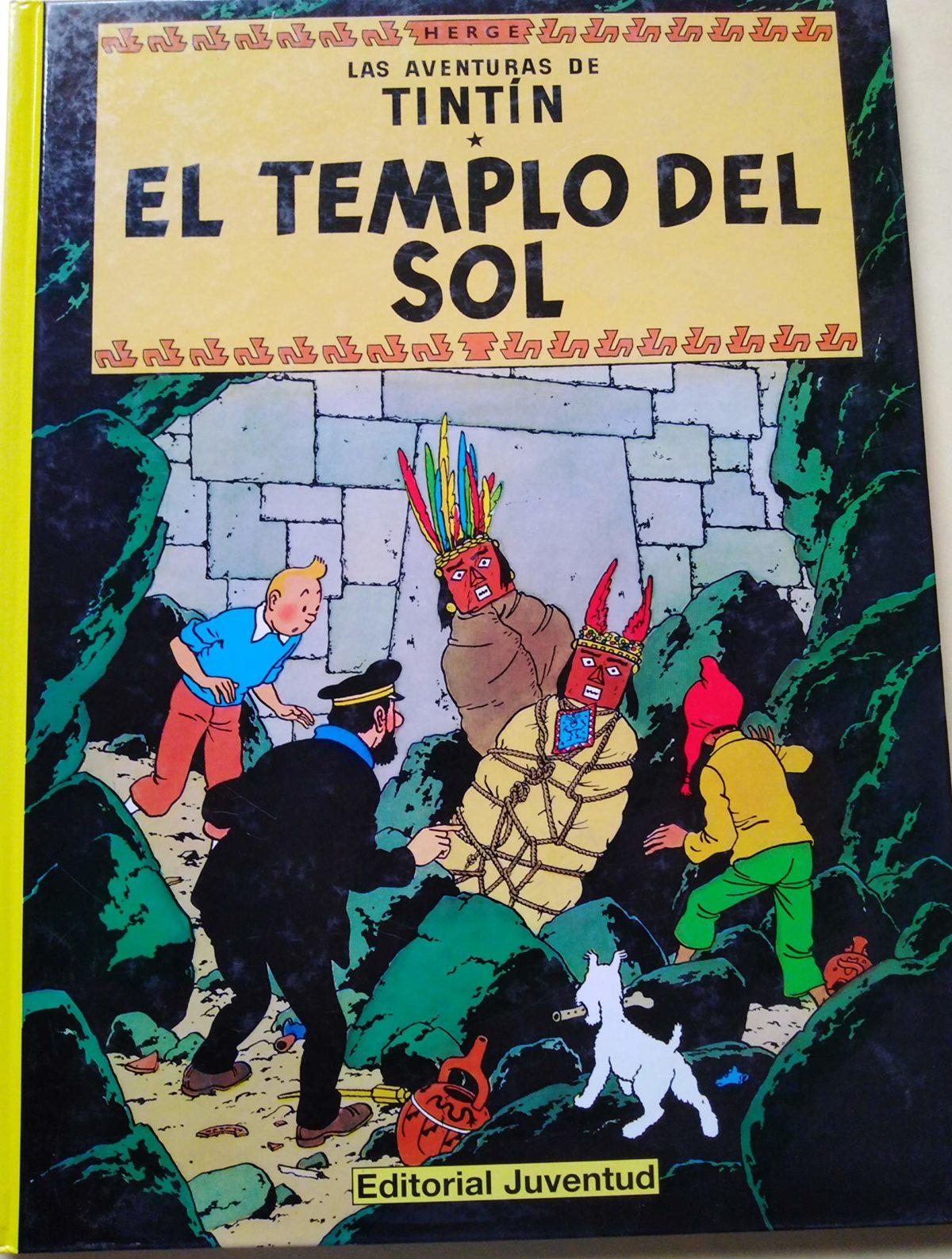 El templo del Sol - Las Aventuras de Tintín (Cartoné)