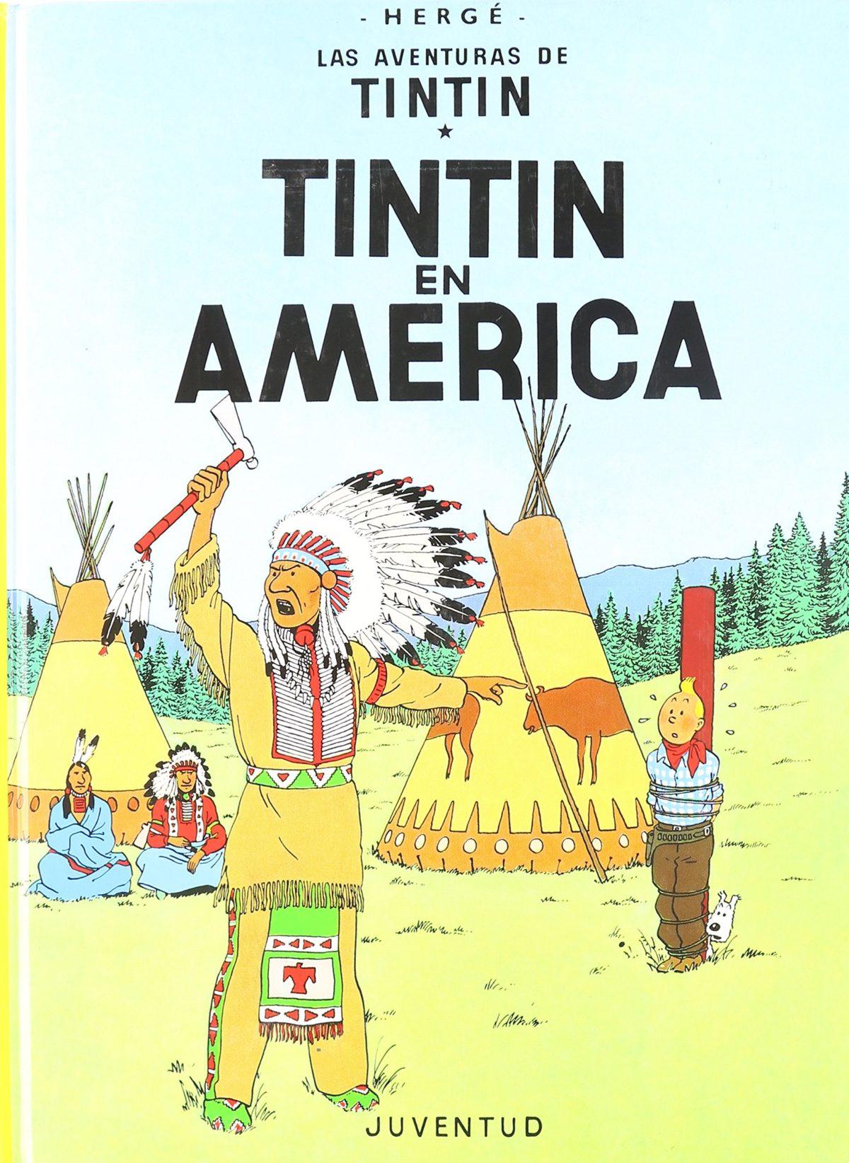 Tintín en América - Las Aventuras de Tintín (Cartoné)