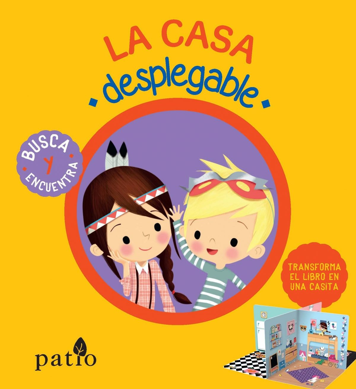 La Casa Desplegable (Infantil Patio)